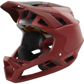 Fox Proframe Matte Full Face Helmet Herren cardinal